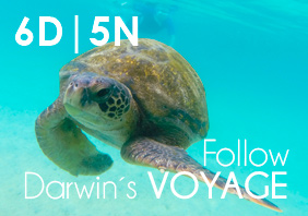 FOLLOW DARWIN´S VOYAGE (6 Days | 5 Nights)