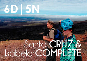 SANTA CRUZ & ISABELA COMPLETE (6 Days | 5 Nights)